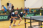 Latvijas IV Olimpiāde. Galda teniss. Foto: L.L.Sipko, A. Auseklis, A.Golubovs