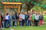 """Projekta """"Prāts vieno ģimeni un skolu"""" atklāšana. Foto:L.Lilenblate-Sipko"""