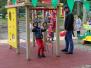 """Projekts """"Alojas bērnu rotaļu laukuma teritorijas labiekārtošana un aktīvās atpūtas iespēju dažādošana jauniešiem"""". Foto: Liāna Lilenblate-Sipko"""
