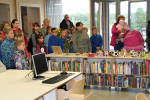 Ratiņtrases-dabas zinību klases atklāšana Ungurpilī. Foto:L.Lilenblate-Sipko