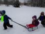 Sniega diena Ozolmuižas pamatskolā 2018. Foto:S.Stumpe