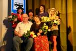 """Staiceles amatierteātra pirmizrāde """"Trīs ar pus atraitnes"""". Foto: R.Jaunzems"""