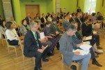 """Noslēgusies projekta """"Alojas novada uzņēmējdarbības atbalsta centrs – bibliotēka """"Sala"""""""" uzsākšanas konference"""