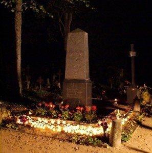 Ausekļa kaps 2007.g. 17.IX
