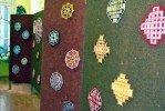 """Ainas Tomsones izstāde """"Tibetas austās mandalas"""""""