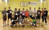 Volejbola turnīrs Staiceles vidusskolas sporta zālē 4 pret 4