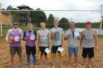 Noslēdzies Alojas novada pludmales volejbola sacensību 2. posms
