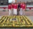 Alojietes no starptautiskā ziedu paklāju festivāla atgriežas ar atzīstamiem rezultātiem