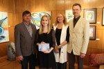 Vītolu fonda stipendijas saņem arī divi jaunieši no Alojas novada