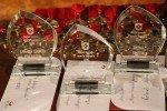 """Izvērtēta aizvadītā gada sportisko sasniegumu """"raža"""", godināti sportisti, treneri un komandas"""
