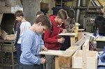 Alojas Ausekļa vidusskolas zēni valsts mājturības un mājsaimniecības olimpiādē