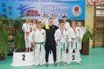 Panākumi bērnu un jauniešu karatē turnīrā Daugavpilī