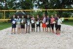 Noslēdzies šī gada Alojas novada čempionāts pludmales volejbolā
