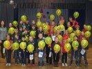 Alojas Ausekļa vidusskolā aizvadīti pirmklasnieku svētki