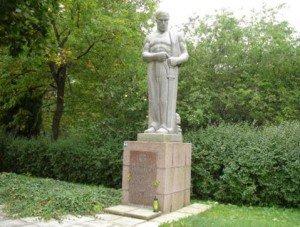 K.Zāles piemineklis Grobiņas novada Medzē