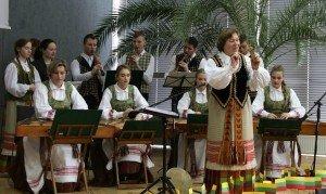 """Šauļu Sauļus Sondecka mākslu ģimnāzijas tautas mūzikas ansamblis """"JOVARELIS"""""""