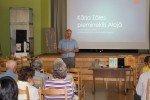 Sanāksmē informēja par paveikto saistībā ar K.Zāles pieminekļa pārvešanu mājās