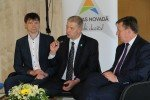 Ministru prezidenta Māra Kučinska vizītes laikā Alojā diskutēja par uzņēmējdarbības attīstību reģionos