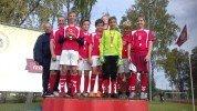 Starpnovadu futbola sacensības Staicelē