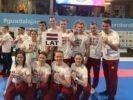 Alojiete karatē čempionātā Spānijā pārstāvēja Latviju