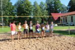 Atklātais Alojas novada pludmales volejbola čempionāts jau pusē