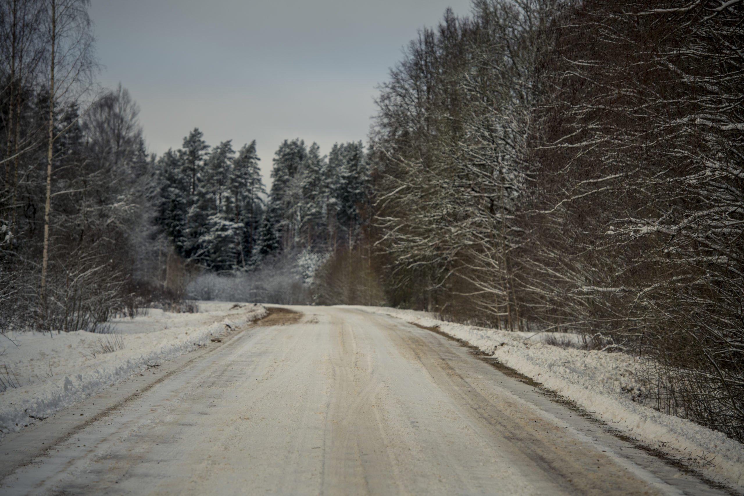 Informācija par ierobežojumiem uz grants ceļiem