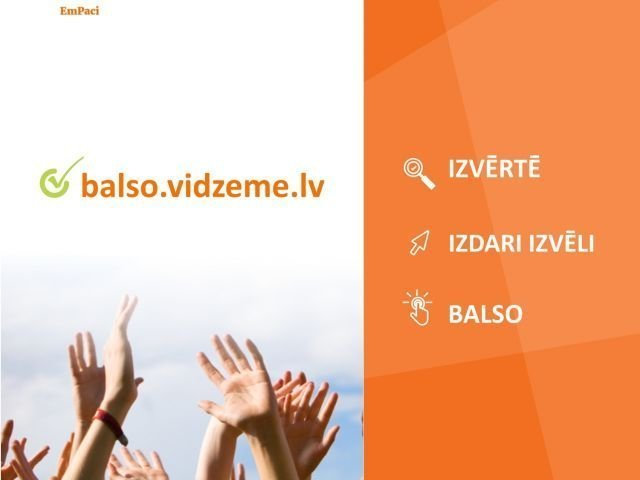 """Aicinām balsot par Alojas novada kultūras projektiem konkursā """"Vidzemes kultūras programma 2021"""""""