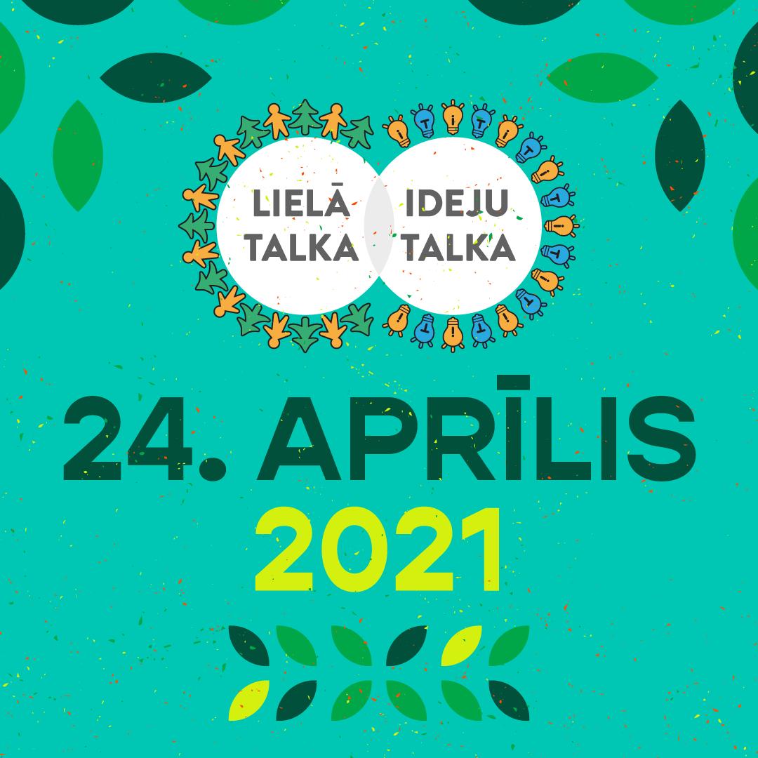 Lielā talka jau 24. aprīlī – aicinām iesaistīties!
