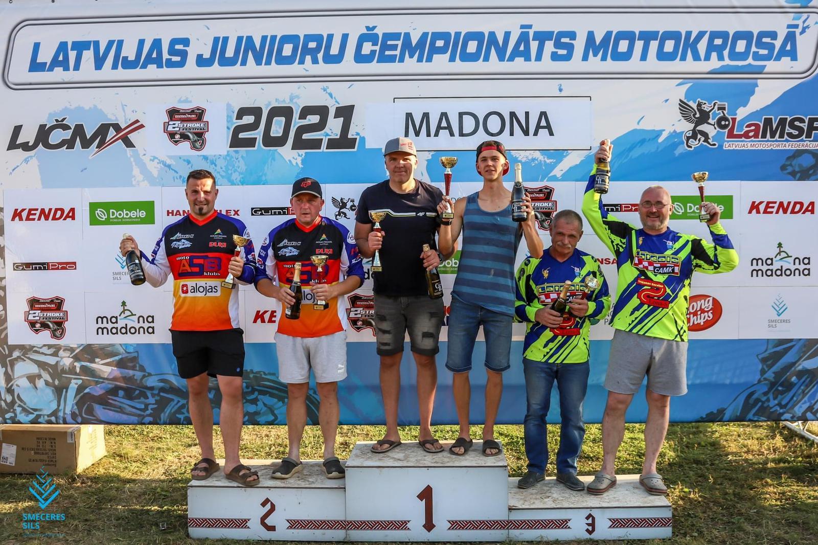 Noslēdzies 2. posms Latvijas Amatieru čempionātā motokrosā