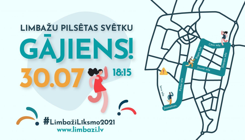 30. jūlijā atvērs durvis Limbažu pilsētas svētkiem