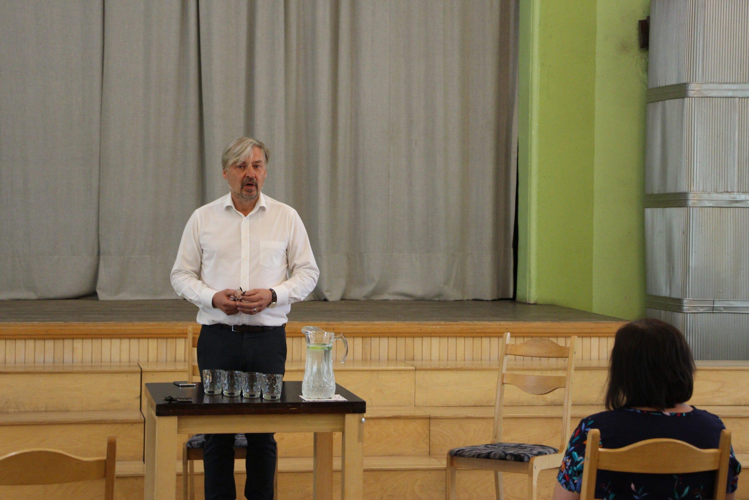 Limbažu novada domes jaunā vadība tiekas ar Alojas administrāciju