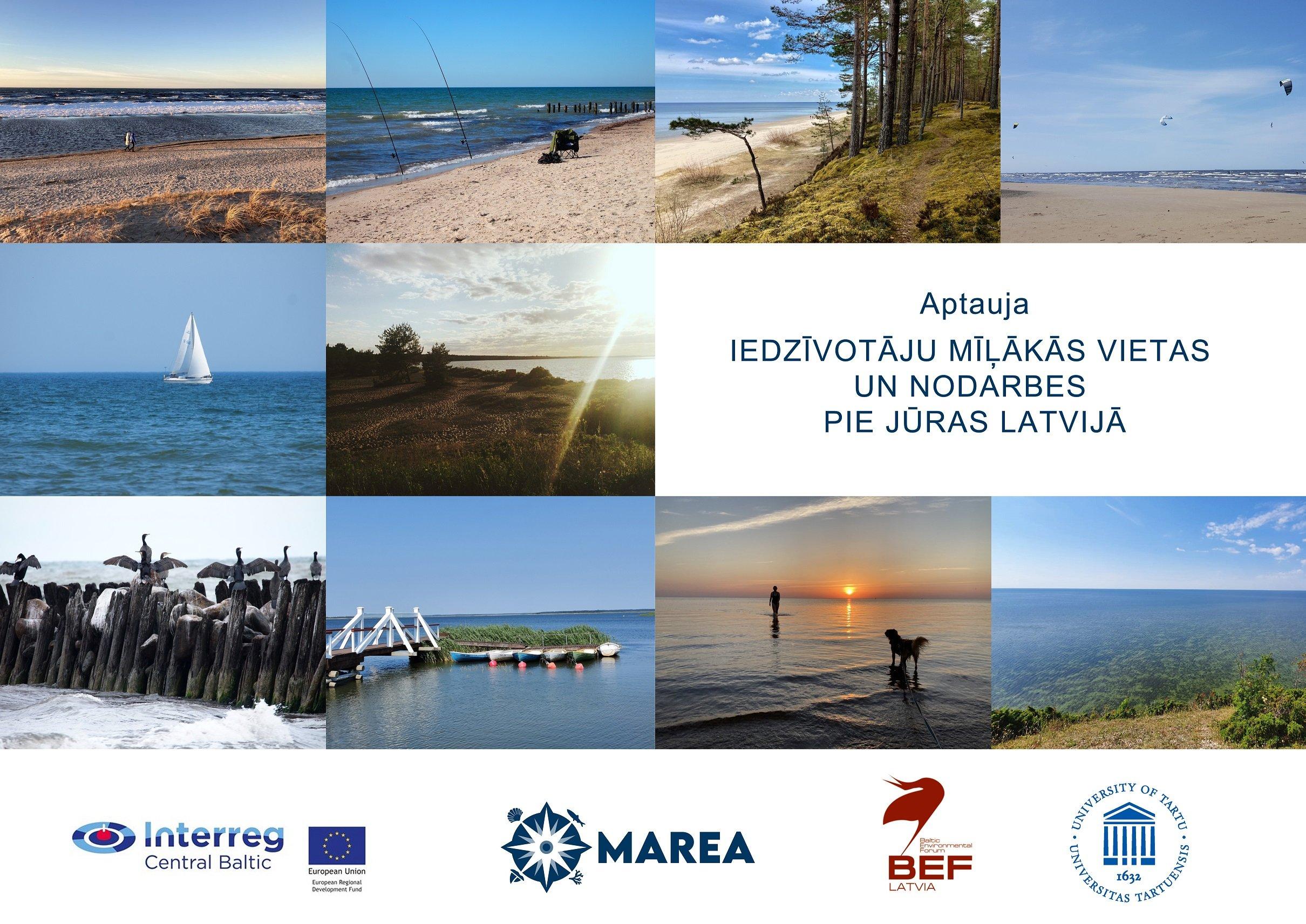 Aicinām piedalīties aptaujā par savu iecienītāko jūras piekrastes vietu un aktivitātēm tajā