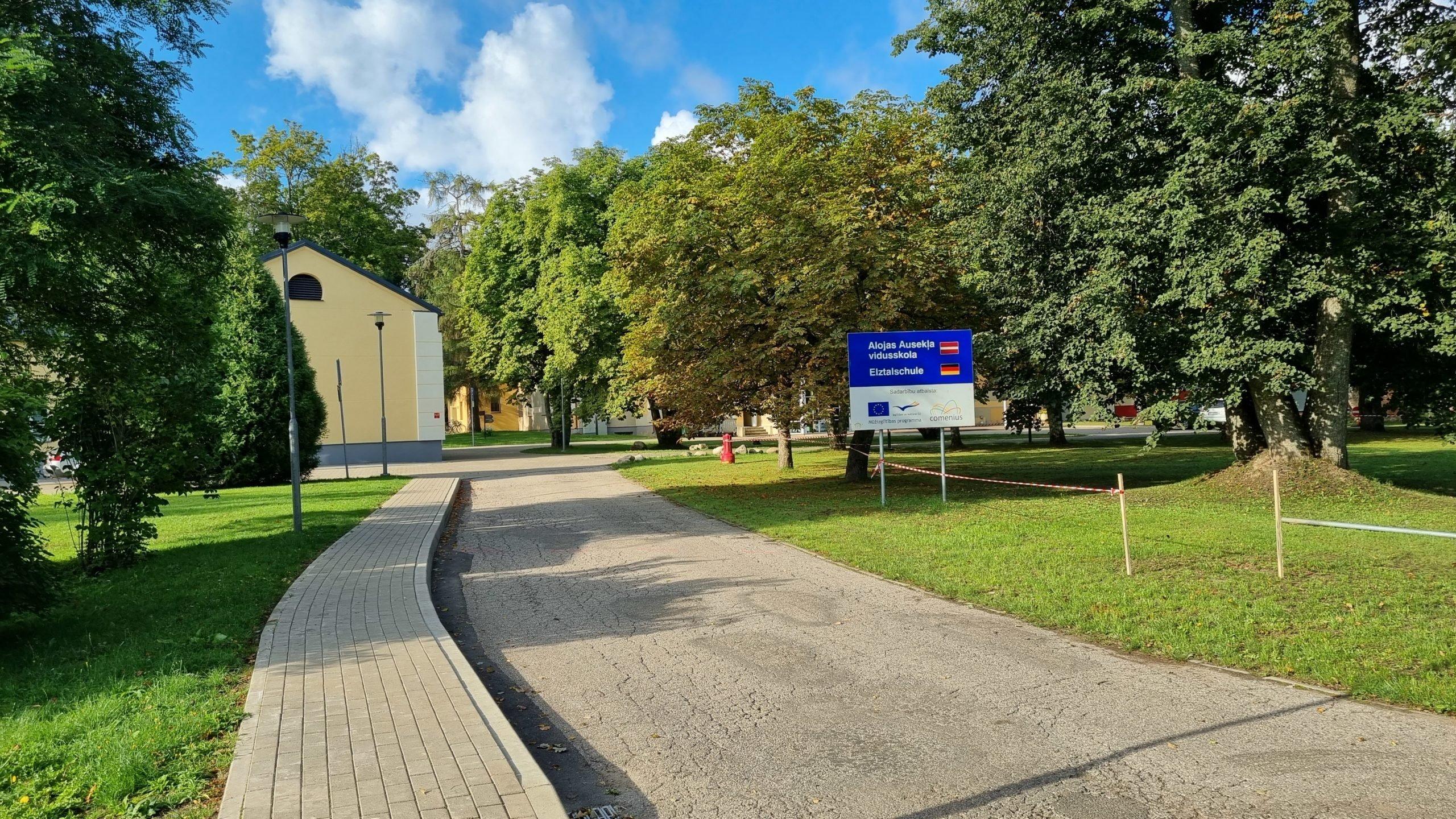 Ir uzsākta Alojas Ausekļa vidusskolas infrastruktūras sakārtošana