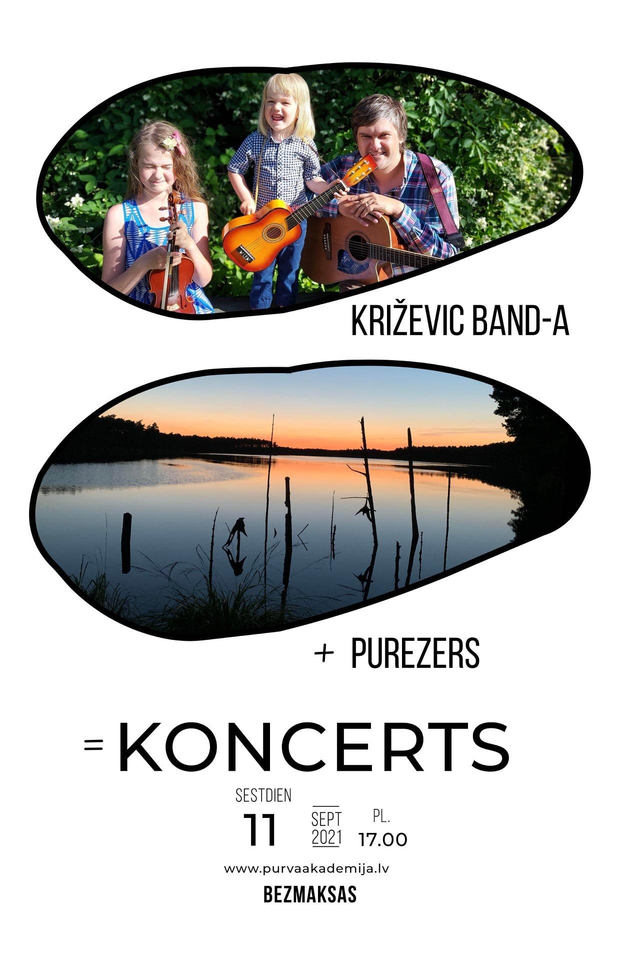Purezerā notiks KRIŽEVIC BAND-A koncerts