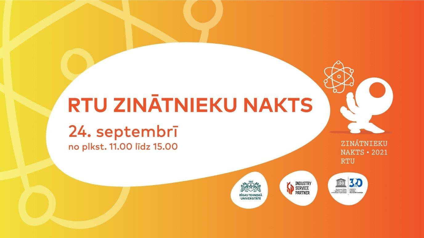 RTU aicina skolēnus uz Zinātnieku nakts pasākumiem 24. septembrī