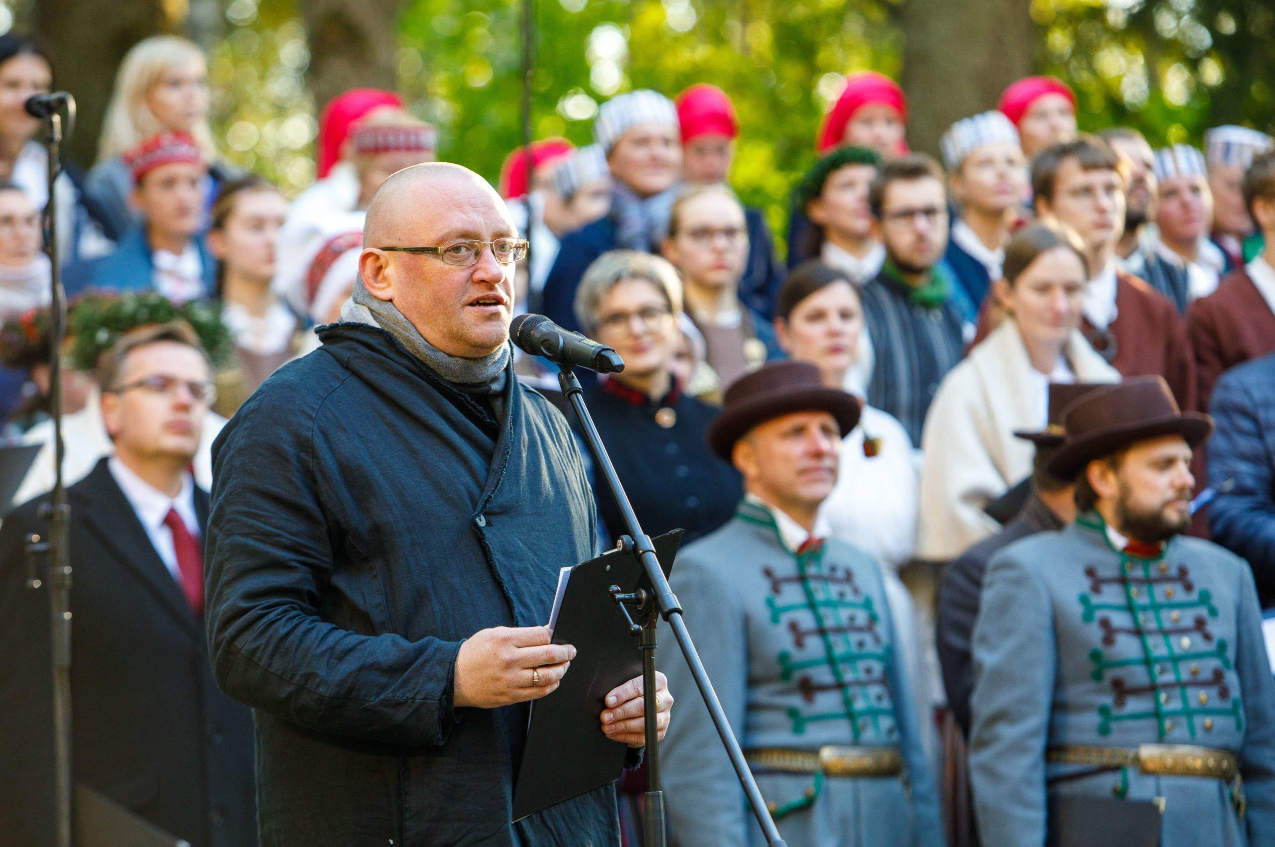 V Latvijas virsdiriģentu svētki Alojā